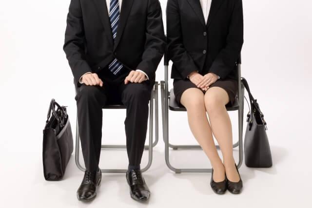 就職活動をする人の画像